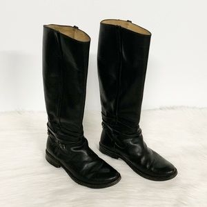 Frye | Vintage Tall Black Riding Boots